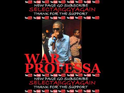 WAR PROFESSA - FREESTYLE DUBPLATE - UNIVERSAL VIBES SELECTA JIGGY & EZ HYPE - NOV 2011