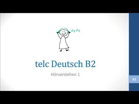 Hörverstehen Modellsatz Niveau B2