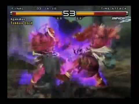 Tekken 5 Jinpachi codebreaker PS2 (USA) and PCSX2 save mc - смотреть