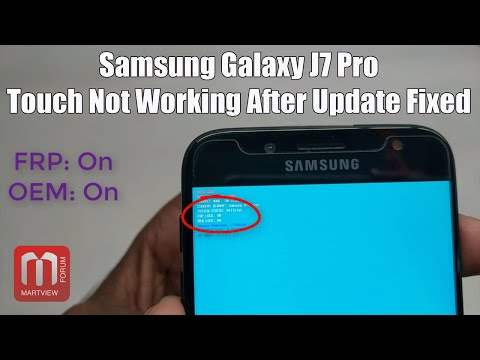 SAMSUNG J7 PRO AFTER UPDATE TOUCH NOT WORKING - смотреть онлайн на