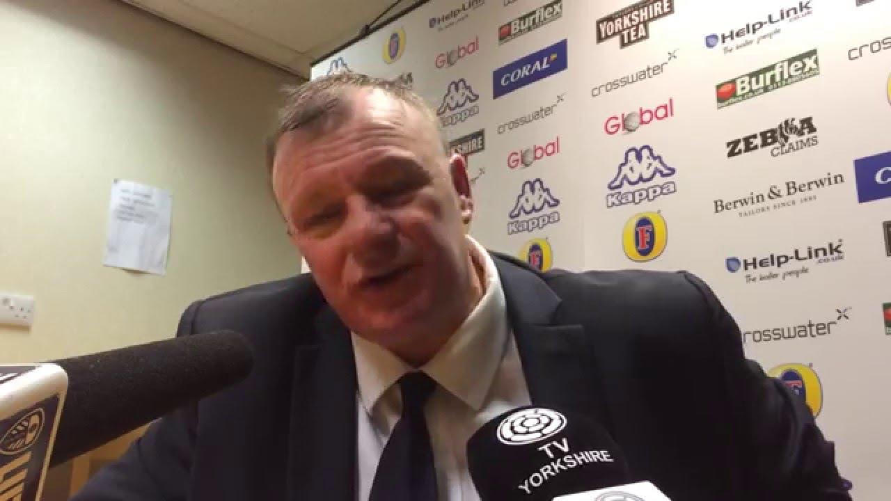 Video: Evans efter 0-1 mot Forest