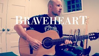 """Video thumbnail of """"Braveheart: A Gift of Thistle (love theme) for guitar + TAB"""""""
