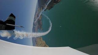 Aerobatic Fun In Two Smoking Vans RV's   4K