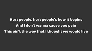 Aloe Blacc,Gryffin   Hurt People (Lyrics)