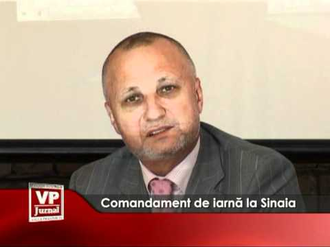 Comandament de Iarnă la Sinaia