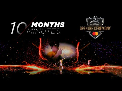 10 Months, 10 Minutes | Worlds 2019 Opening Ceremony Presented by Mastercard - League of Legends