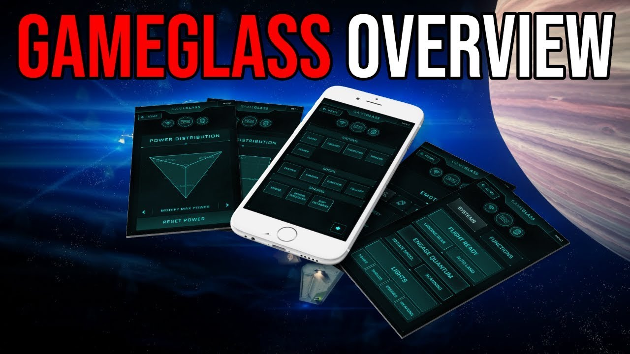 GameGlass Overview - An Amazing Tool for Star Citizen