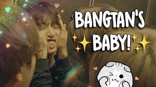 jungkook being bangtan's baby