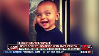 Update to BPD finds body of two-year-old in Kern River Canyon