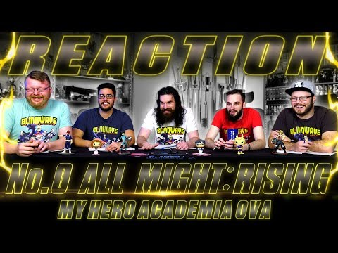 My Hero Academia OVA: All Might Rising REACTION!!