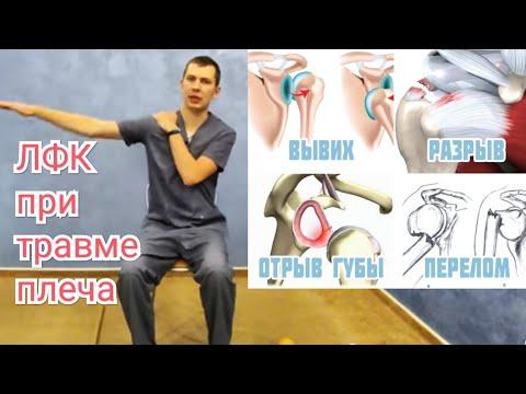 ЛФК при заболеваниях плечевого сустава.