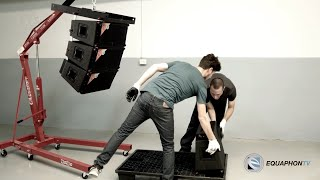 Download Youtube: STS Linea V15+ - Sistema Profesional Line Array Autoamplificado Compacto