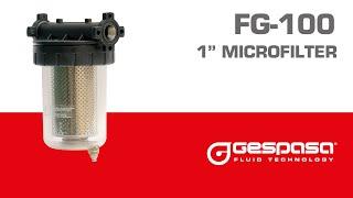 Фильтр-сепаратор дизельного топлива Gespasa FG-100