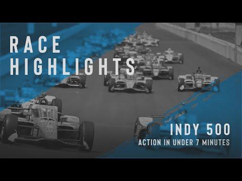 エリオ・カストロネベスが4度目のインディ500を制す!インディーカー インディ500のハイライト動画