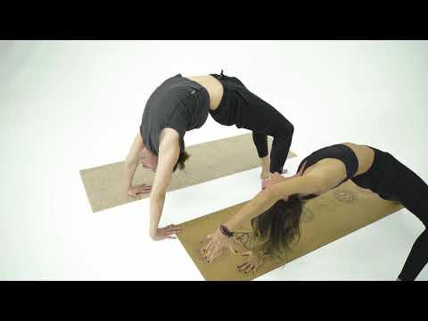 Roru Tattoo Mikrofiber yüzey yoga matı - Mat taşıma kılıf hediyeli