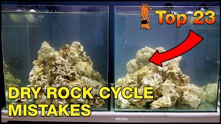 Cycling a reef tank with dry rock and want to do it right? Top 23 reasons it may FAIL.