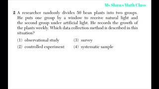 What is the difference between observational study and controlled experiments