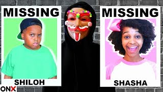 Shiloh and Shasha are MISSING?! - Epic Gingerbread Man Chase - Onyx Kids