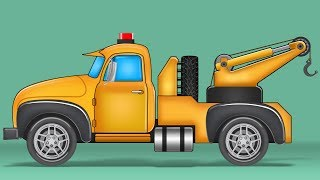 Kids TV Channel   Tow Truck   Vehicle Assembly   Cartoon Cars For Children   Toy Truck Videos