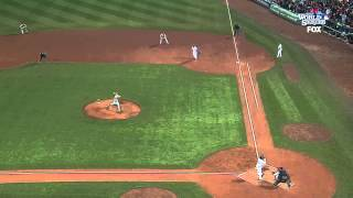 2013/10/30 Victorino's three-run double