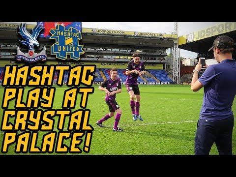 HASHTAG UNITED vs CRYSTAL PALACE BEHIND THE SCENES! DIVISION 1!