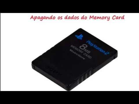Jogando no Playstation 2 usando o pendrive e Memory Card