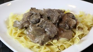 How to Make Beef Stroganoff – Homemade Beef Stroganoff Recipe