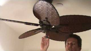 Operating a Ceiling Fan