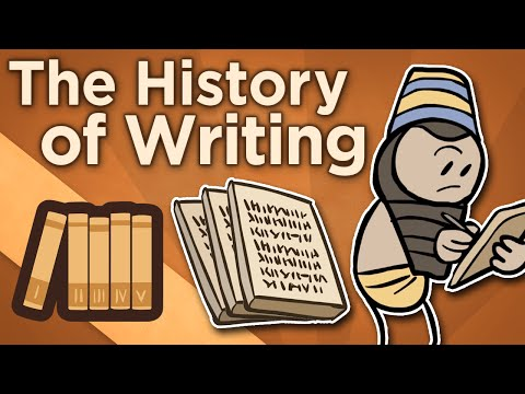 Historie psaní