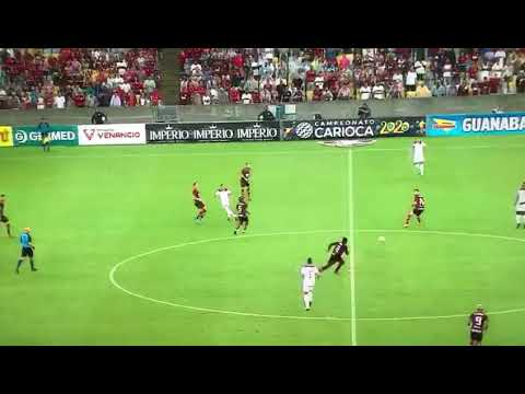 Gol do Flamengo Gabigol Fla x Flu