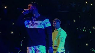 AYER En Vivo - Anuel AA ft J Balvin | Barclays Center