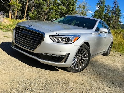 2017 Genesis G90 Luxury Car Review