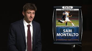 Sam Montalto: All-Area Boys' Soccer Player of the Year