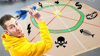 EXTREME DARTBOARD OF PUNISHMENTS! *$1,000 bullseye*