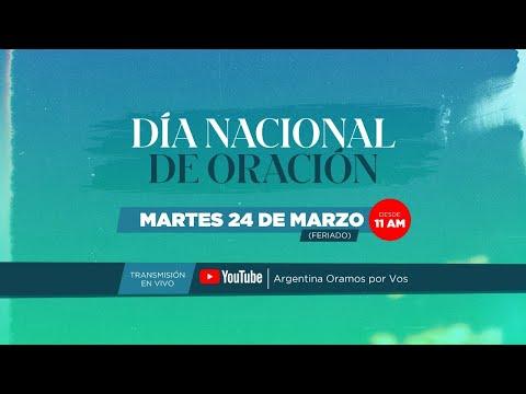 Día Nacional de Oración – Argentina Oramos por Vos 2020