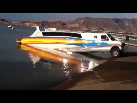 Limousine Turns Into A Boat!