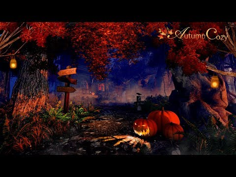 HALLOWEEN AMBIENCE: Cauldron Sounds, Ghosts, Nature Sounds, Halloween Sounds