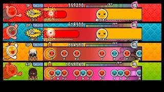 【太鼓の達人 Wii4】百鬼夜行【全難易度同時再生】