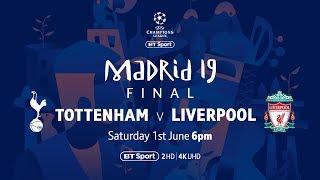 Watch Tottenham Hotspur Vs Liverpool Live On BT Sport's YouTube Channel