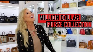 MILLION DOLLAR PURSE COLLECTION!!