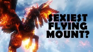LIGHT CALYPTO! SEXIEST FLYING MOUNT?   Riders of Icarus