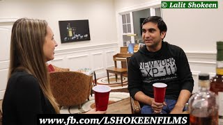 When Haryanvi boy got American Roommate - | Lalit Shokeen Comedy |