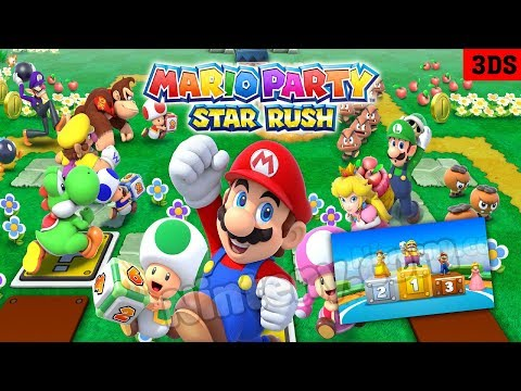 Mario Party Star Rush 3DS Decrypted & Cia - Play on PC with