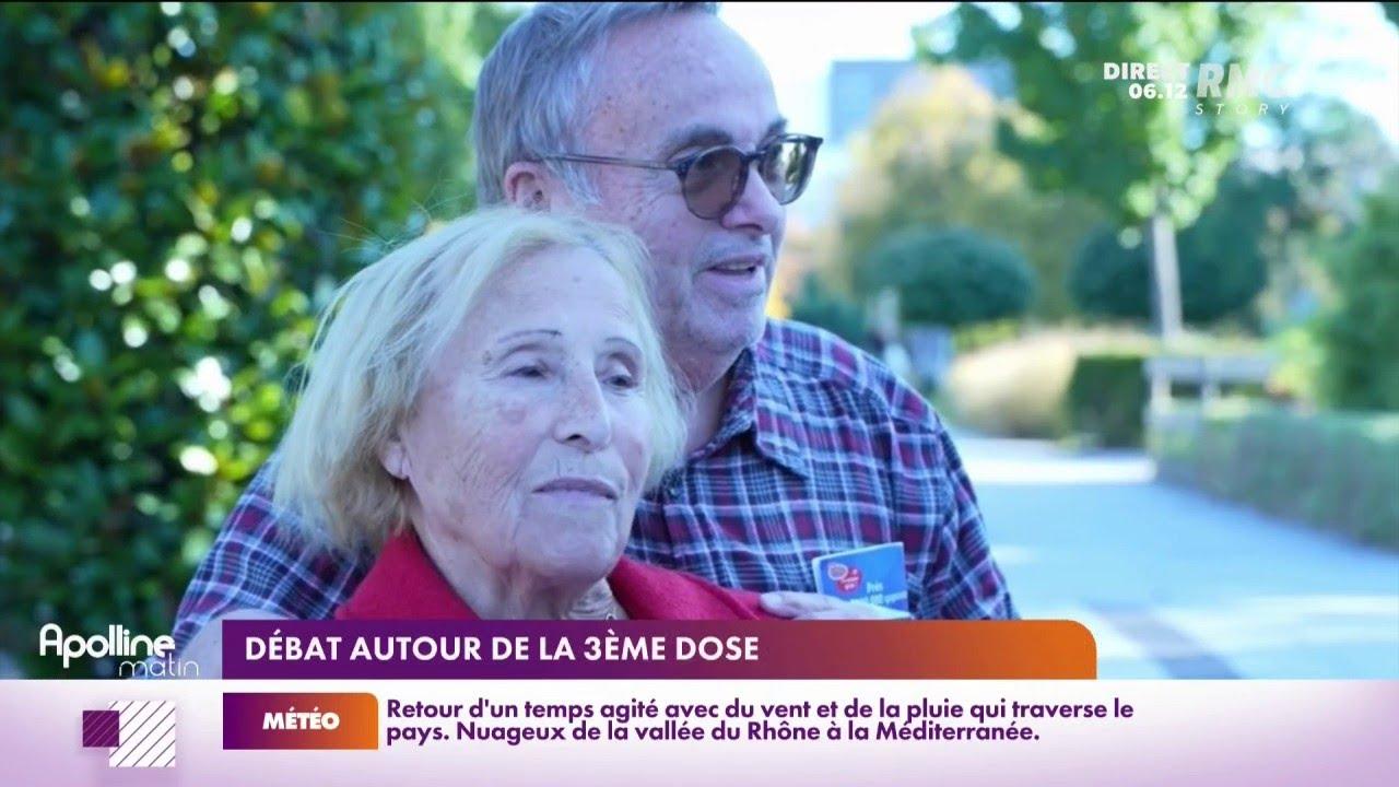 """""""Je n'ai pas peur, mais..."""": les +65 ans réticents pour une 3e dose?"""