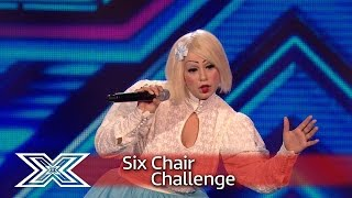 Sada Vidoo makes her bid for Judges' Houses! | Six Chair Challenge | The X Factor UK 2016 - Video Youtube