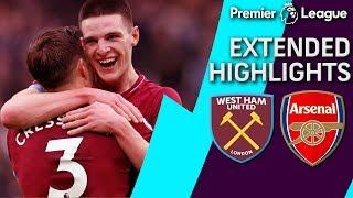 West Ham v. Arsenal | PREMIER LEAGUE EXTENDED HIGHLIGHTS | 1/12/19 | NBC Sports