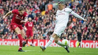 Liverpool Legends 3-2 AC Milan | Fowler flick, Pirlo free-kick and a Steven Gerrard winner