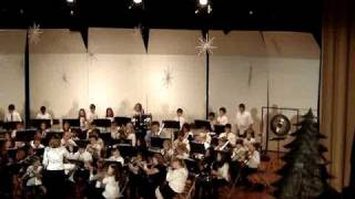 My Fifth Grade Band playing Freedom's Road