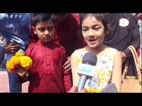 কেন্দ্রীয় শহীদ মিনারে শ্রদ্ধা জানিয়েছেন বিভিন্ন দেশের নাগরিকারাও | ETV News