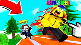 I Used an AUTO CLICKER and Became the FASTEST in the WORLD.. (Roblox)